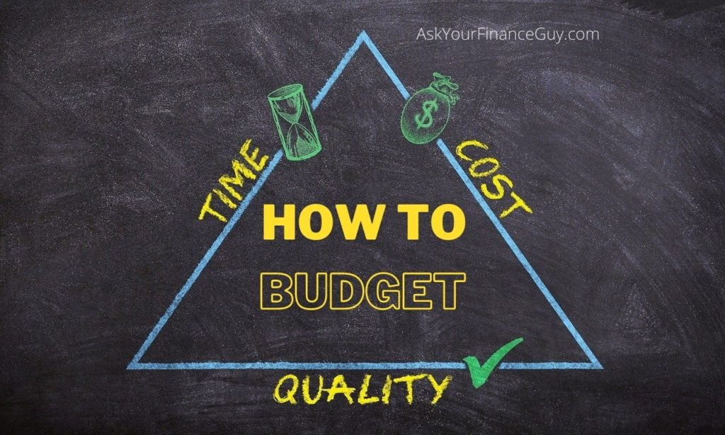 How to Create a Personal Budget Today